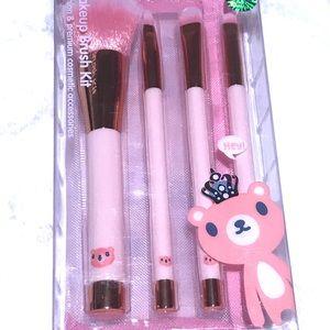 NWT SandBear Makeup Brush Kit